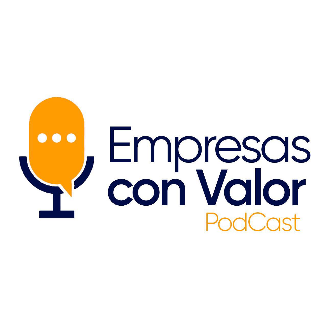 Podcast Empresas con Valor BIOS con Javier Zepeda logotipo