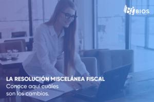 Resolución miscelánea fiscal