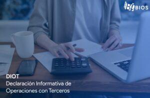DIOT declaracion informativa de operaciones con terceros