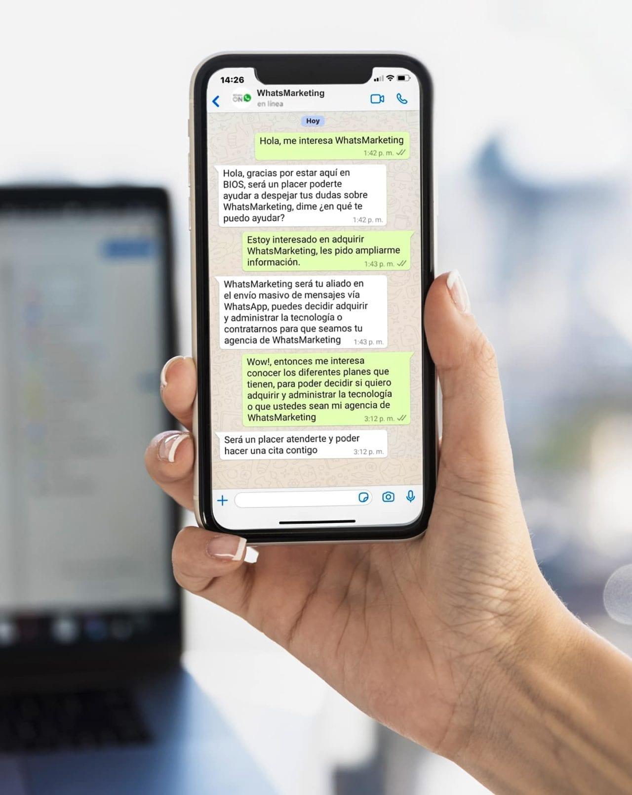 WhatsMarketing Smartphone